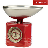 Typhoon Vintage Kitchen Scales ? 1940?s 1950?s style from Red Candy, designer red scales
