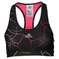 adidas Techfit Shatter Print Bra - Women's at Lady Foot Locker