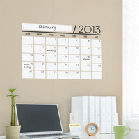 Vinyl Wall Sticker Decal  Wall Calendar  Dry Erase by SimpleShapes