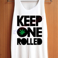 WEED Cannabis Marijuana Bong Smoking Herbal Smoke Shirt Top Tank Top Tee Tunic Singlet Women