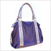 Metallic Rhinestone Fashion Bag
