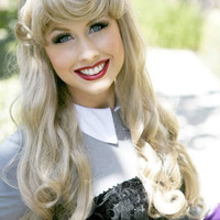 BLONDE BEAUTY WIG Couture Princess Wig with Thick by SirensGrotto