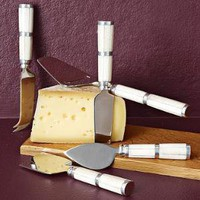 Bone Cheese Knife Set | west elm