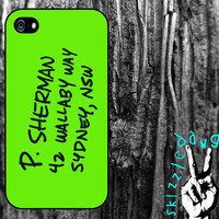 Finding Nemo P. Sherman Wallaby Way Apple iPhone 4/4S and 5 Cell Phone Case Cover Original Trendy Stylish Design