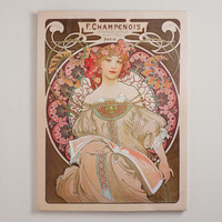 """Reverie"" by Alphonse Mucha 
