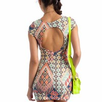 open back tribal dress $31.10 in MINTRED - Tribal | GoJane.com