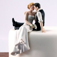 Weddingstar The Look of Love Bride and Groom Couple Figurine for Cakes:Amazon:Kitchen & Dining