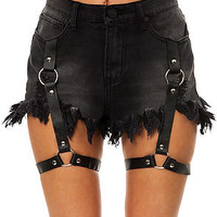 UNIF Shorts Harness in Black