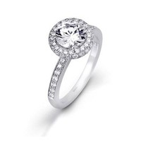 Have You Seen the Ring?: 1.24tcw Simon G Bridal Passion Collection Diamond Engagement Ring
