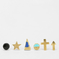 Urban Outfitters - All Mixed Up Stud Earring Set