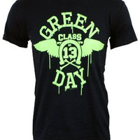 Green Day Neon Wings Men's T-Shirt - Offical Band Merch - Buy Online at Grindstore.com