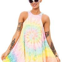 UNIF Dress Haighter in Tie-Dye