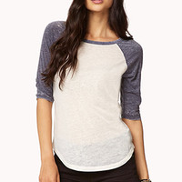 Burnout Baseball Tee | FOREVER 21 - 2052287735