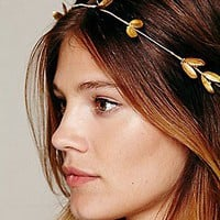 Heart of Gold  Metal Wire Hair Band at Free People Clothing Boutique