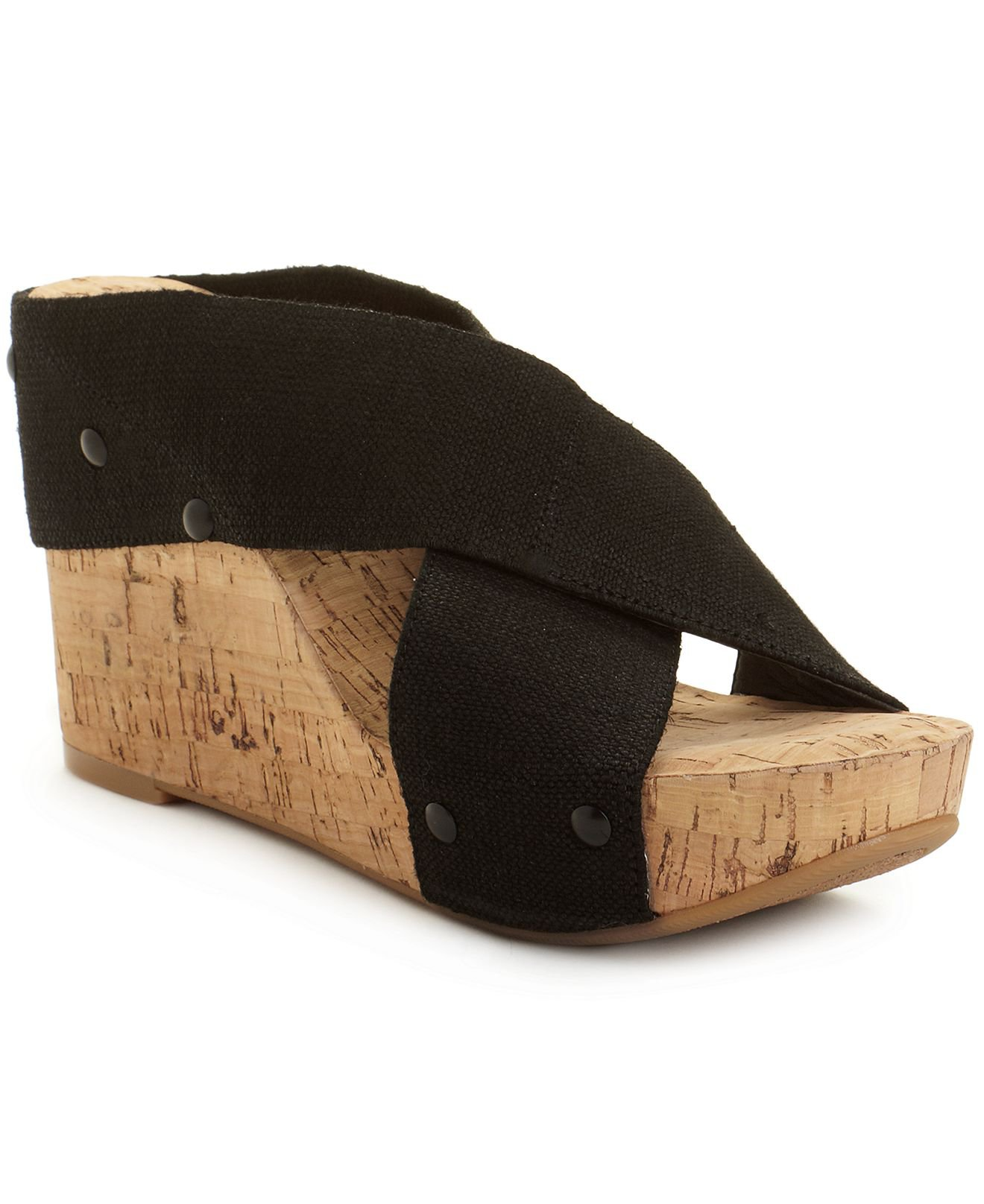 lucky brand shoes miller2 wedge sandals from macys