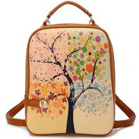 Tree of Four Seasons Backpack-j NMY521