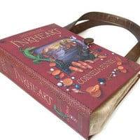 Book Purse Inkheart Book Handbag Retro Designer Bag