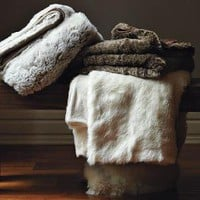 Faux-Fur Throw | west elm