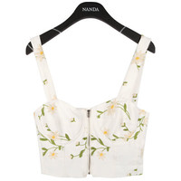 Dandelion Embroidered Bralet | FashionShop【STYLENANDA】 ($40.00)