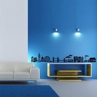 Vinyl Wall Decal Sticker Art  Funky London by wordybirdstudios