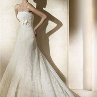 Pronovias wedding dresses PDMB154 - Millybride.com