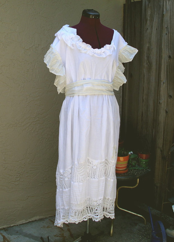 Sale Rustic French Country Dress From KheGreen On Etsy Gypsy