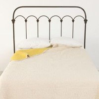 UrbanOutfitters.com &gt; Wrought Iron Headboard Wall Decal