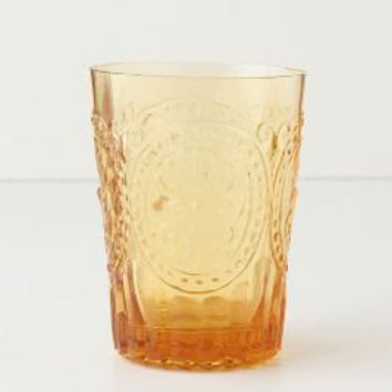 Fleur-De-Lys Juice Glass by Anthropologie