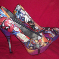 Amazing Spider Man Heels by Designed4Divas
