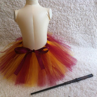 Gryffindor House Tutu for Girls by Dressupcastle on Etsy