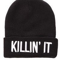 Beauty Forever The Killin It Beanie : Karmaloop.com - Global Concrete Culture