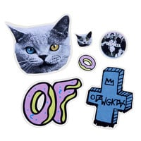 OF STICKER PACK – Odd Future