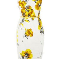 Oasis All Dresses | Pale Yellow Collared Shift Dress | Womens Fashion Clothing | Oasis Stores UK