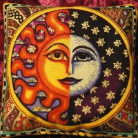 Celestial Dream Pillow | OnceUponASilverMoon - Earth Friendly on ArtFire