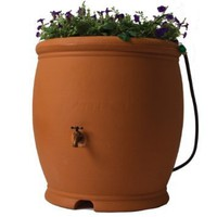 Algreen Barcelona Rain Barrel, 100 Gallon