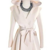 Beautiful Hooded Trench Coat