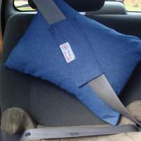 Cover Only -- Road Trip Travel Pillow Seatbelt Pillow for Kids, Teens, Adults