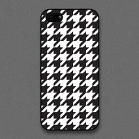 iPhone 5 Case - Houndstooth, iPhone Case, iPhone 5 Case, Cases for iPhone 5, Hard iPhone 5 Case