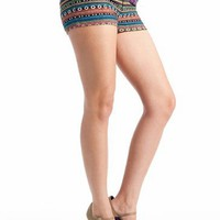 multi double buttoned shorts $19.60 in MULTI - New Bottoms | GoJane.com