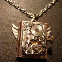 Steampunk Neo Victorian Vintage Watch Movement by CreepyCreationz