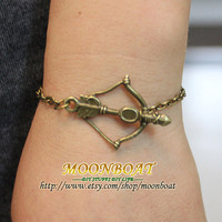On-Sale The Hunger Games Inspired Katniss Bow Bracelet Cuff