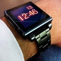 Gunmetal Hex Vision iPod Nano Watchband