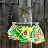 Adorable littel girls skirt with diaper cover