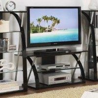 Contemporary LCD Plasma TV Media Stand