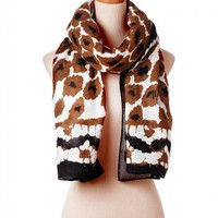 Black Multi Sahara Tie All Scarf - Scarves - Shop | Theodora & Callum