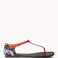 Out West Thong Sandals | FOREVER 21 - 2048249027