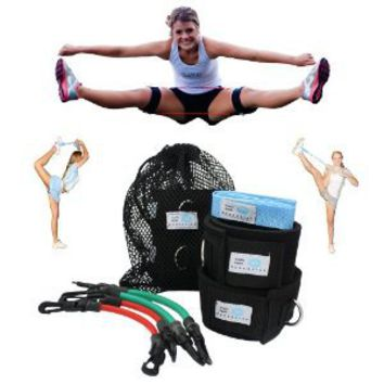 Cheer Fitness Training Combo (Myosource Kinetic Bands and Free Flexibility Stunt Strap) (User weight is more than 110 lbs (50 kg))