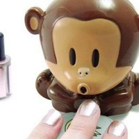 Cute Make up Monkey Nail Drier