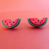 Watermelon Stud Earrings Free Shipping