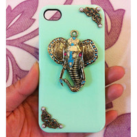 Handmade Elephant Case For iPhone 5